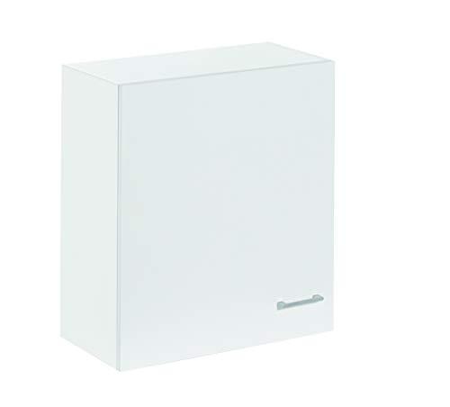 Armario alto de cocina, blanco, de 60cm con 1 puerta