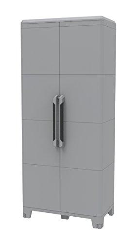 Terry, Transforming Modular 4, Armario Multifunción 2 Puertas, Material: Plástico, Dimensiones: 78...