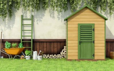 Armario exterior madera